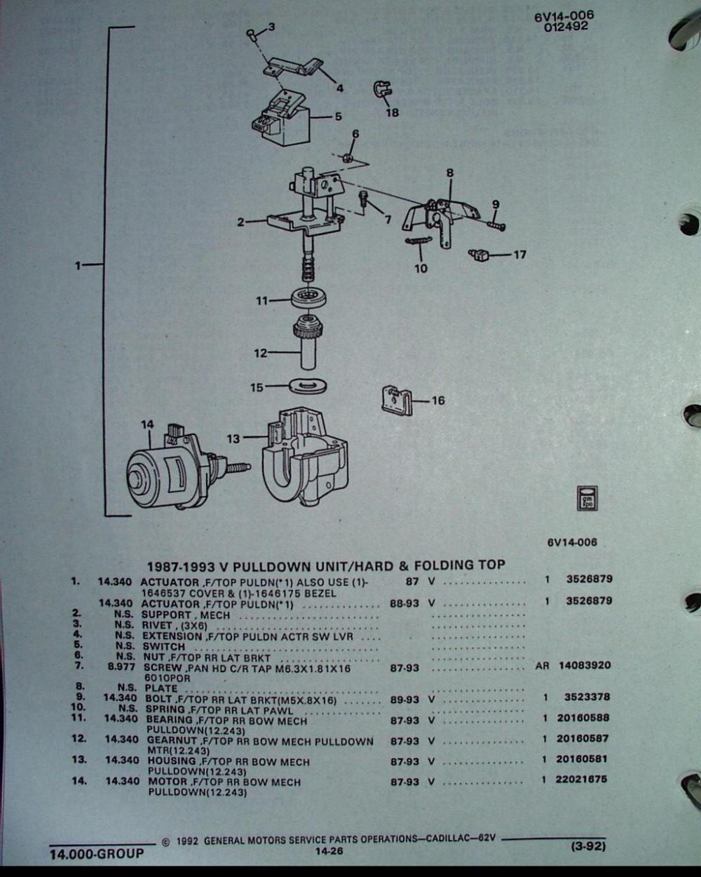medium resolution of allante wiring diagram