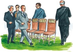 Corporate musical chairs