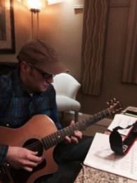 Rick At The Poole Room Recording studio