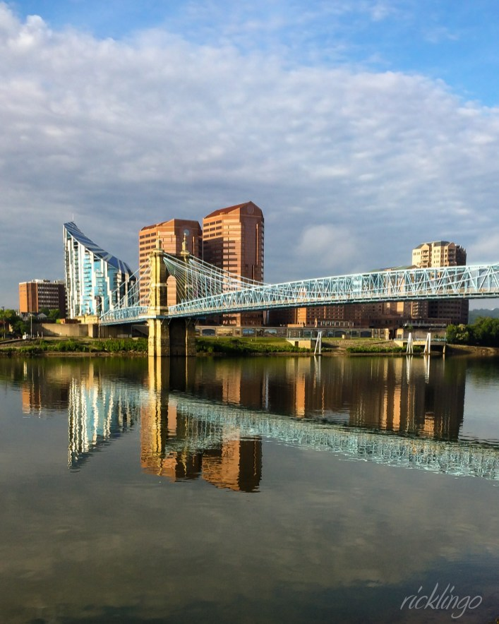 The Covington, Kentucky, skyline in front of the Ohio River. Selected Photo of the Day on CaptureCincinnati.com.