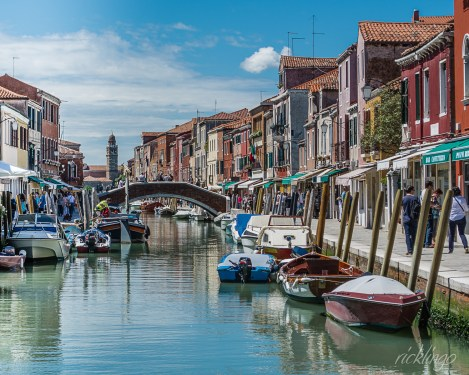 "Murano, Italy. Feature photo in 2016 ""Creative Voices"" magazine. Awarded 3rd place in the ""Italian Beautiful Places"" challenge and 4th place in the ""Canal"" challenge on the international photographic website Pixoto. ""All Star"" Peer Award on website ViewBug."
