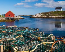 Peggy's Cove, Nova Scotia. Featured photo on the Greater Cincinnati Photographers Club website.