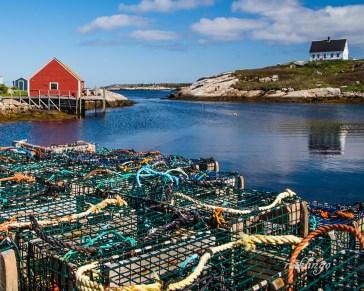 Peggy's Cove, Nova Scotia. Featured photo on the Greater Cincinnati Photographers Club website.