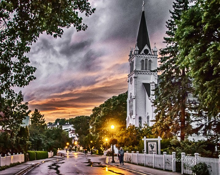 """Mackinac Island, Michigan. Feature photo on the home page for the Greater Cincinnati Photographers Club. 9th place award in """"Buildings and Architecture"""" at international website Pixoto. """"Absolute Masterpiece"""" Peer Award on international website ViewBug."""