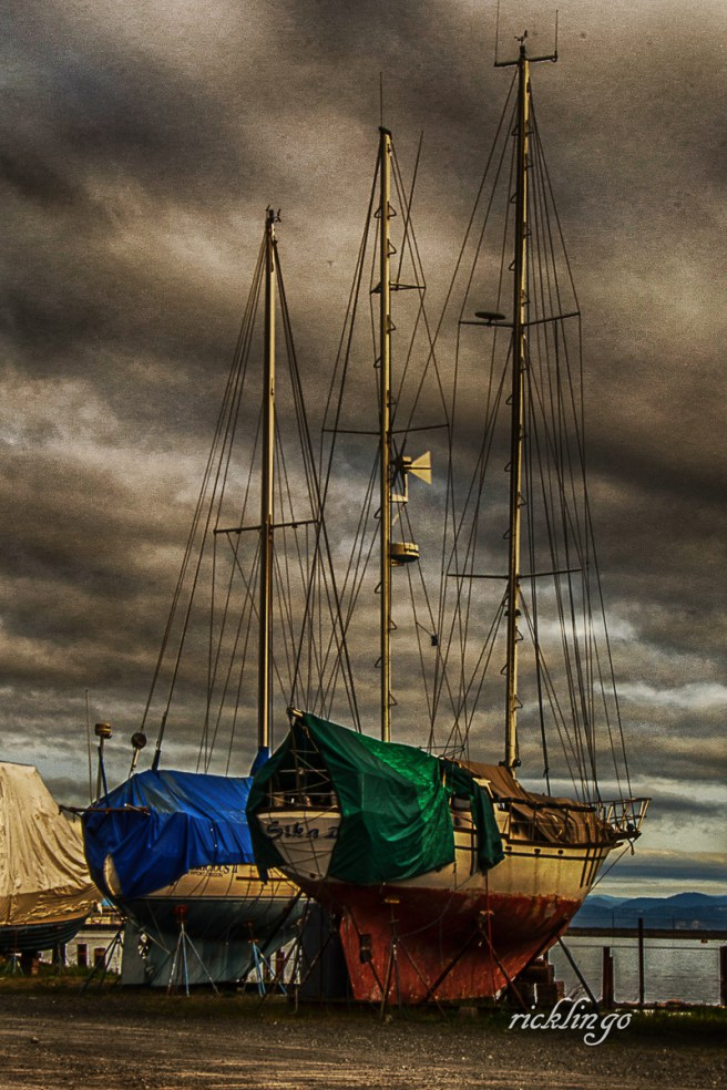 """Port Angeles, Washington. 7th place for the day in """"Transportation"""" on the international website Pixoto."""