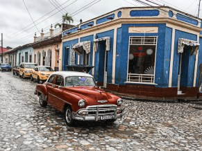 """Trinidad, Cuba. Expert Commended in """"Super Cell"""" contest on Photocrowd. 2nd place for the day in """"Transportation"""" and 10th place in """"Vehicle"""" challenge on international website Pixoto."""