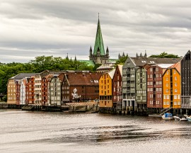 """Trondheim, Norway. 3rd place for the day in """"City, Street, and Park"""" on international website Pixoto."""