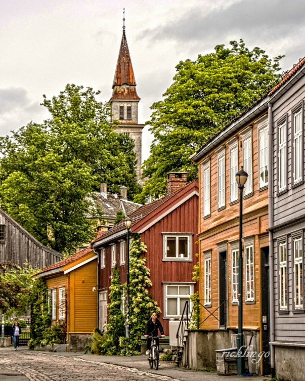 """Trondheim, Norway. 2nd place award for the day in """"City, Street, and Parks"""" on international website Pixoto."""