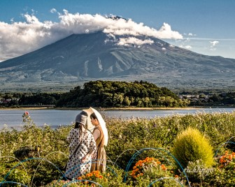 "Mount Fiji, Japan. 4th place for the day in ""People"" on international website Pixoto."