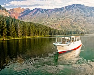 "Glacier National Park, Montana. 1st place for the day in ""Transportation"" on international website Pixoto."