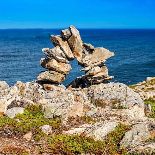 Near Bonavista Lighthouse, Newfoundland.