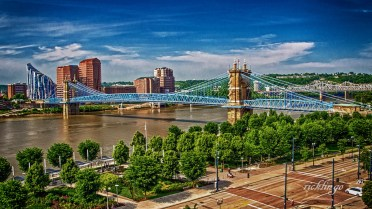 """1st for the day in """"City, Streets, Parks"""" at international website Pixoto, Photo of Day at capturecincinnati"""