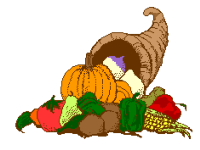 Thanksgiving Cornicopia