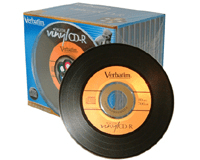 Verbatim Vinyl CD-ROM Retro