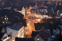 Nocturnal Small Town by Kecko on Flickr