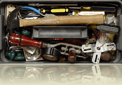 My Tool Box by Jim Frazier