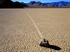 Racetrack Playa, Death Valley, CA - By James Gordon