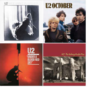 U2 Live! - Google Play Music Playlist