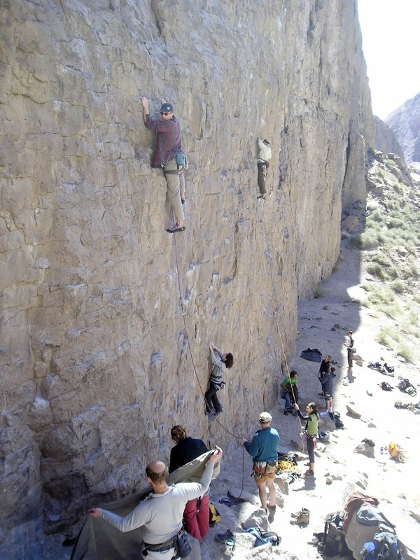 Owens River Gorge Rock Climbing