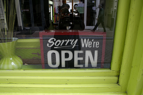 sorry-we-are-open