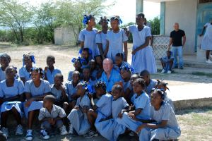 Friends in Balan, Haiti
