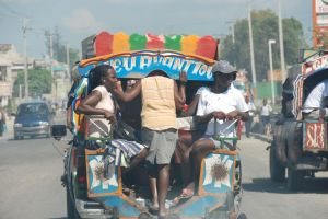 Ridin'  - Public Transportation in Haiti