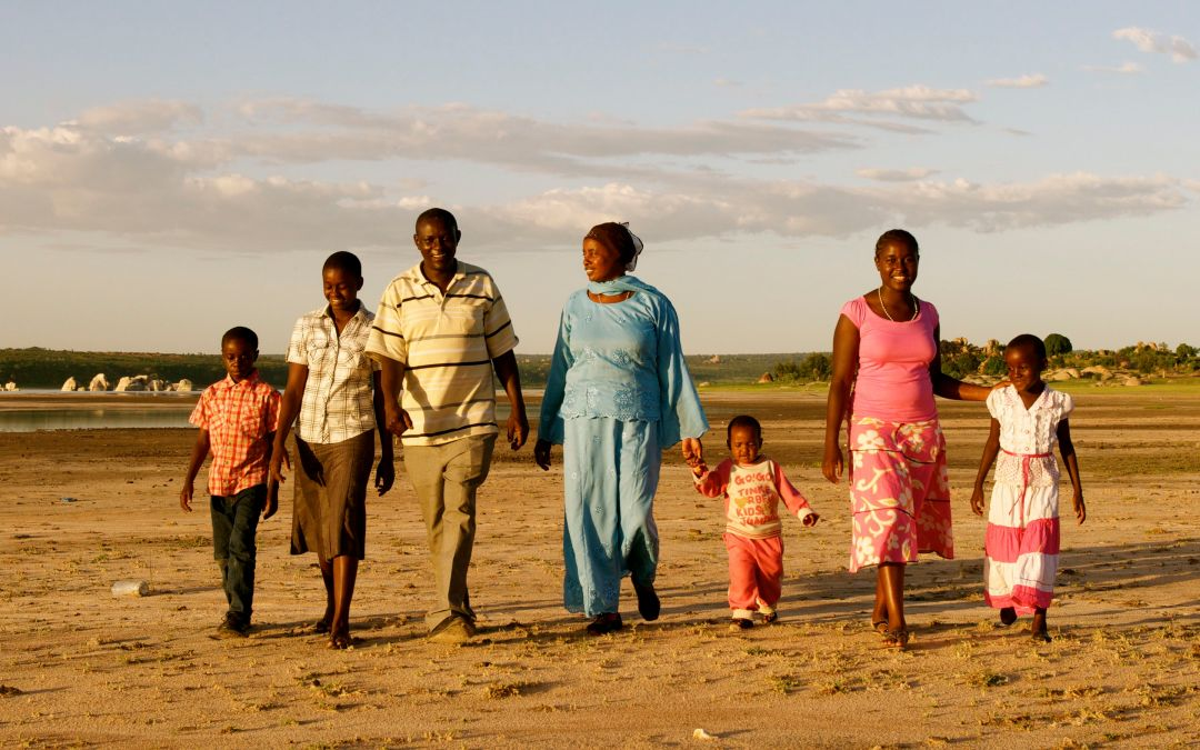 My Heart in Africa: At The End of The Day