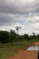 Windmill in Nkungi village