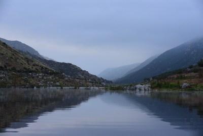 Morning Glow on Barrett Lake, CA