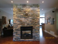 Added Elegance with a Double Sided Fireplace | Rick ...