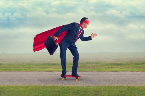 Entrepreneurial Drive With A Cape
