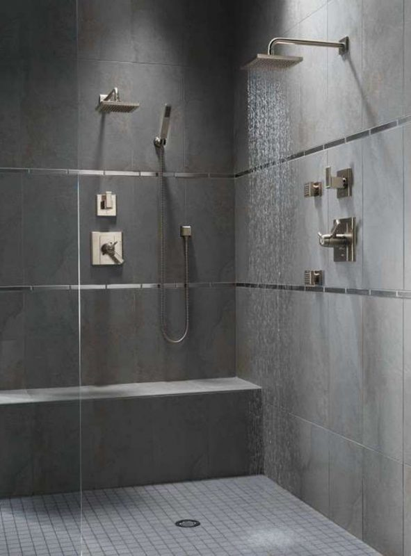bathroom shower tile ideas for a man