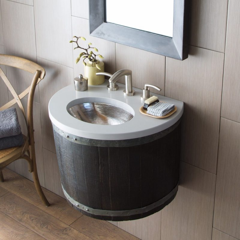unique bathroom vanities single sink