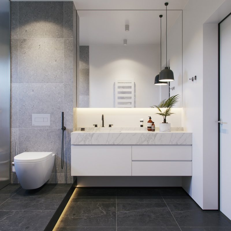 Grey bathroom ideas for modern home design