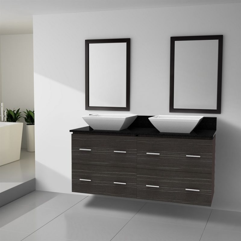 simplest bathroom vanities double sink