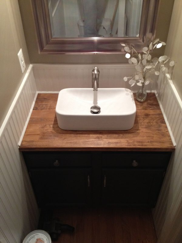 corner bathroom vanity with tops