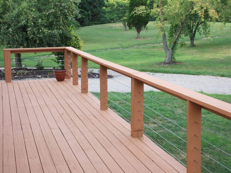 deck rail cap ideas