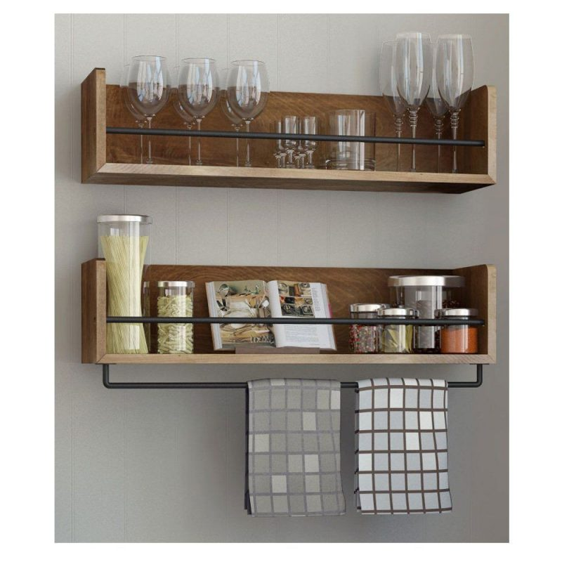 shelves instead of cabinets