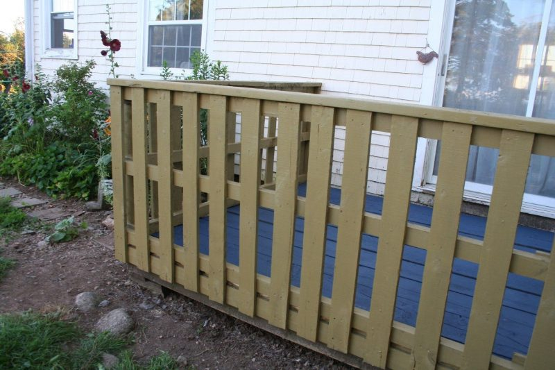 privacy ideas for deck railings