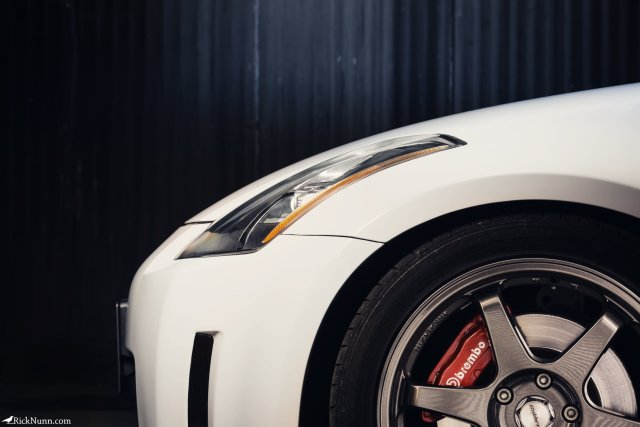 Light Painted 350z Side