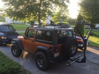 Jeep Kayak Rack | Car Interior Design
