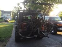 Jeep Roof Rack / Kayak / Bike Rack Progress | Cycling ...