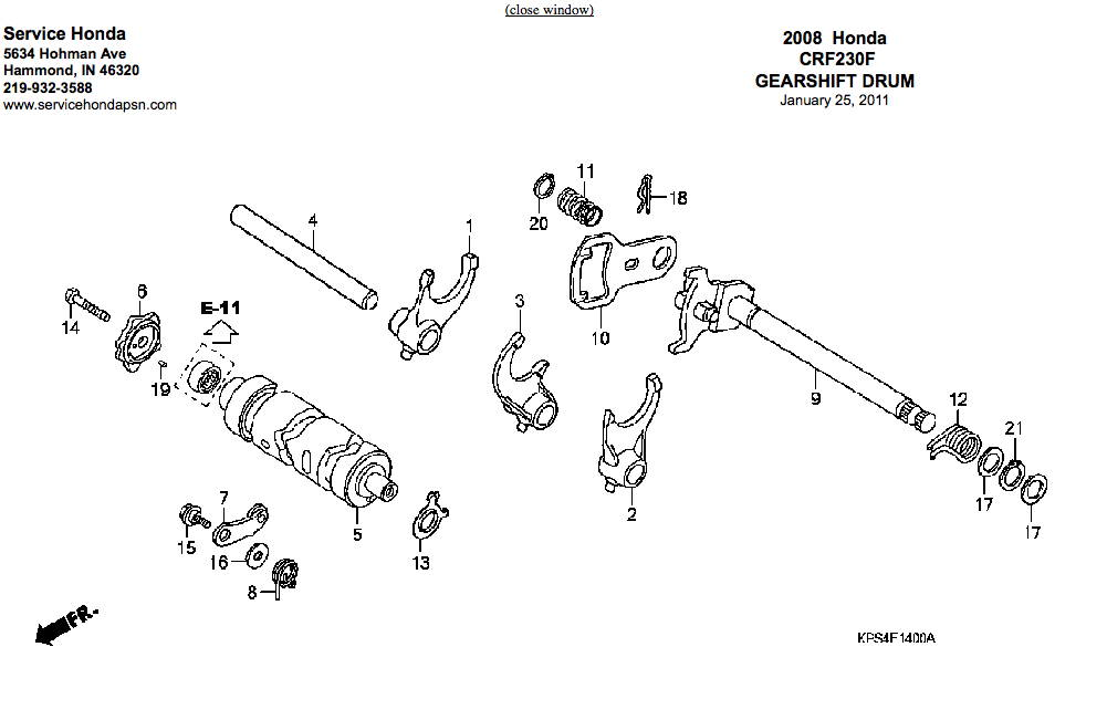 related with 05 crf 230 wiring diagram