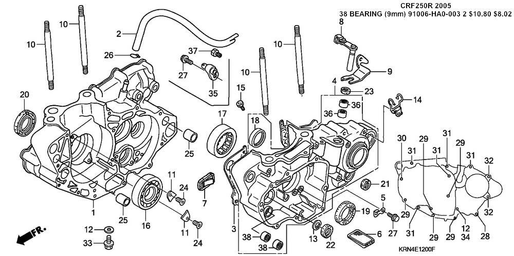 Honda Motorcycle Oem Parts Diagram. Honda. Auto Wiring Diagram