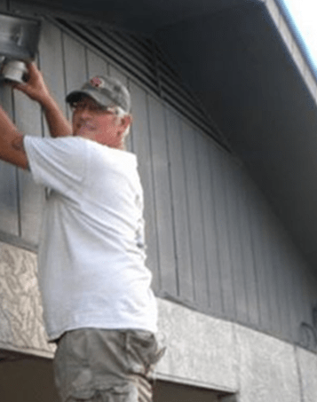 Installing Security Lighting