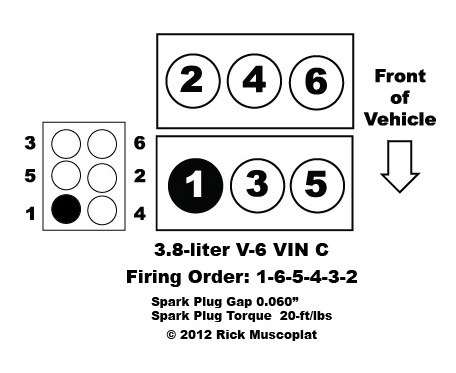 1997 Ford Windstar 3 8 Firing Order