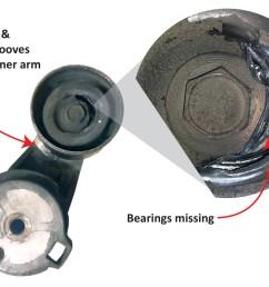 diagnose a belt tensioner [ 3180 x 2267 Pixel ]