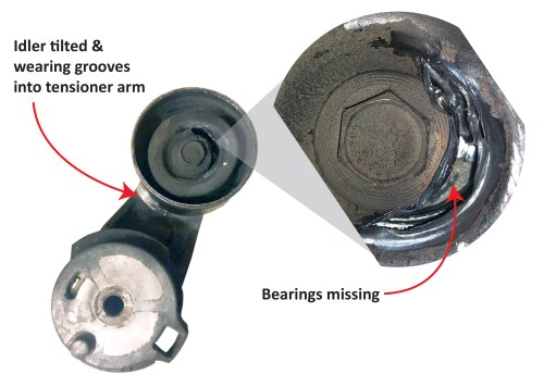 small resolution of diagnose a belt tensioner