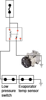nissan 350z fan wiring diagram for 3 5 mm stereo plug compressor clutch not engaging - ricks free auto repair advice ...