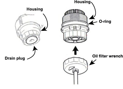 Toyota Cartridge Oil Filter, Toyota, Free Engine Image For